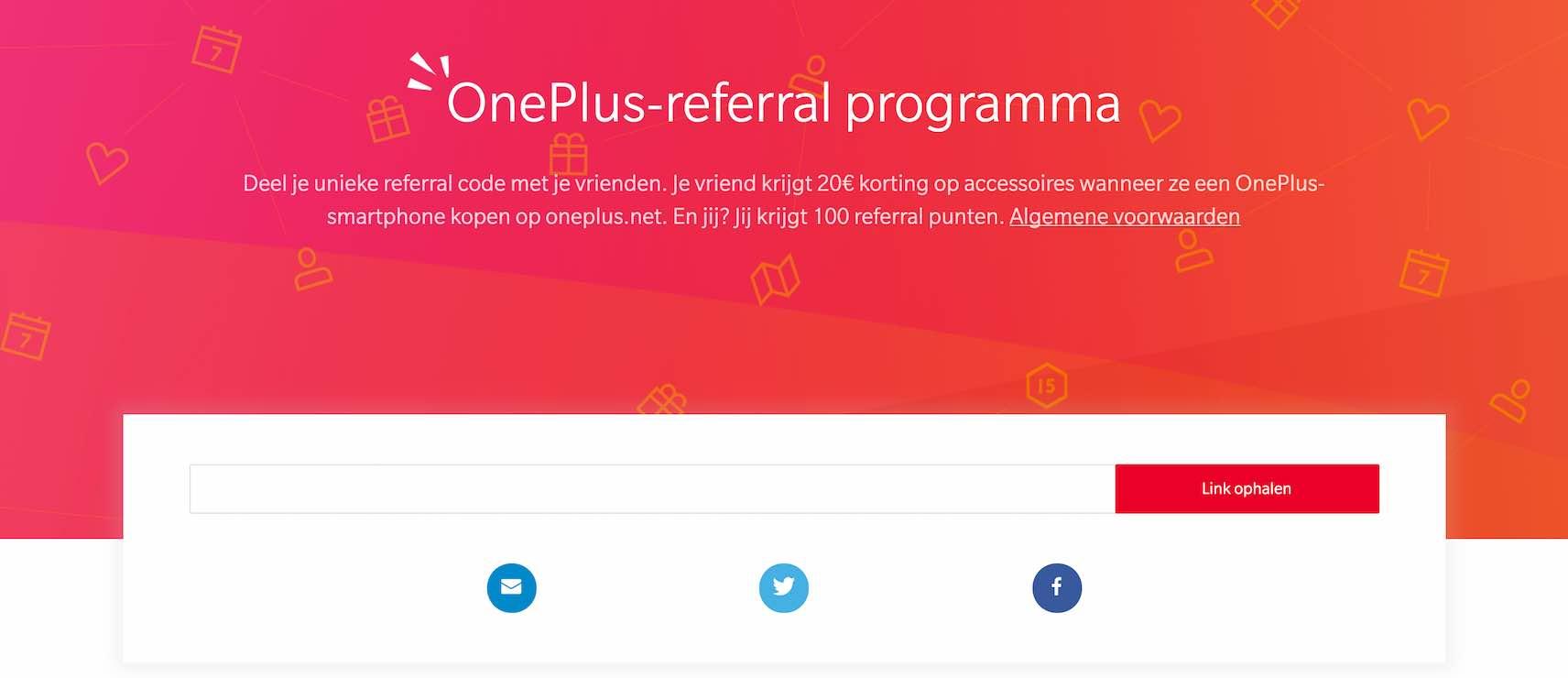 OnePlus Referral Program