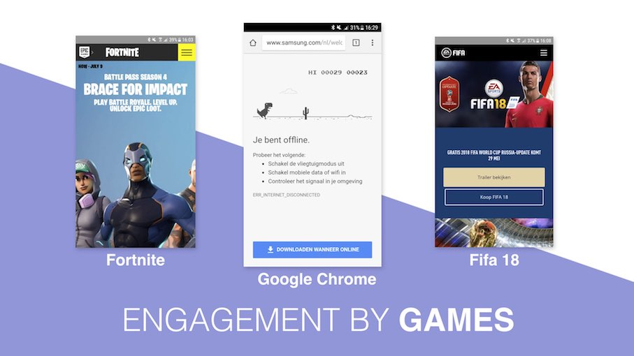 Conversie design - Engagement by Games