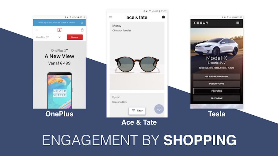 Conversie design - Engagement by Shopping
